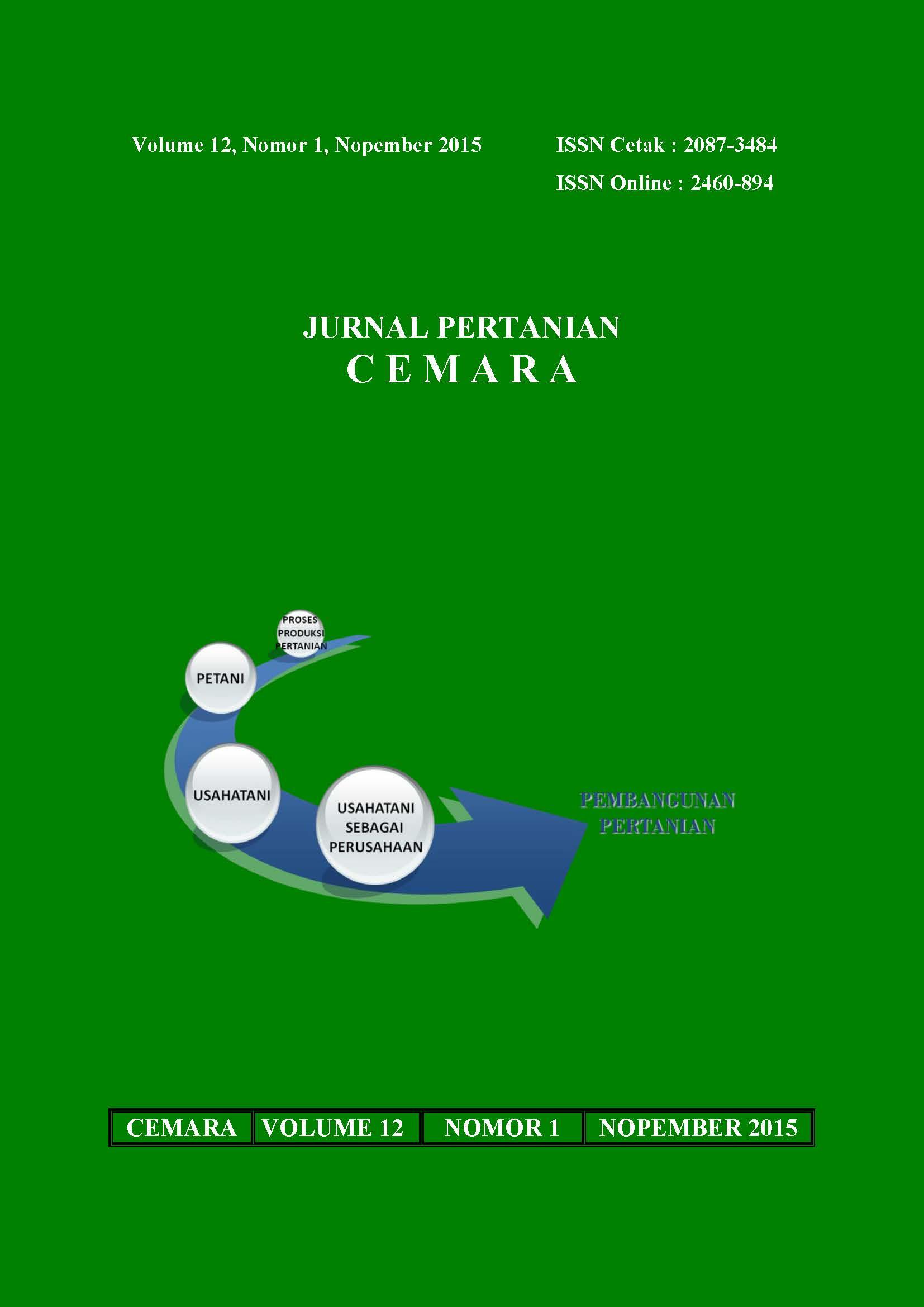ejournal Fakultas Pertanian